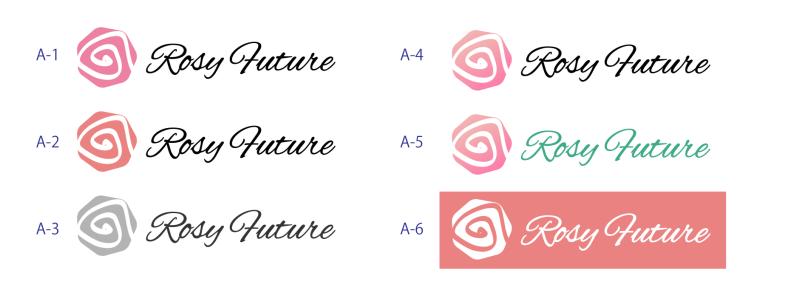 ロゴ作成、A・B 2案 提案の例