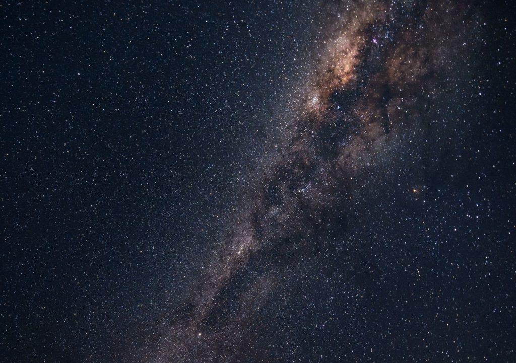 夜空 天の川